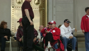 Tea Party Members at the Capitol Doors